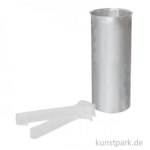 Wachsschmelzgefäß 1 Liter, inklusive Kunststoffhaltezange