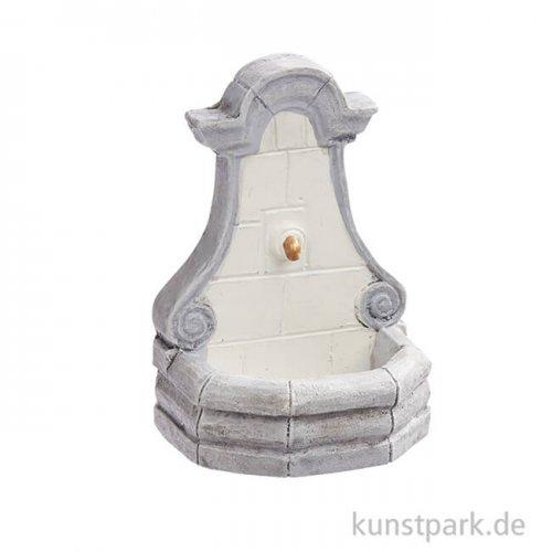 Wandbrunnen in Steinoptik, 6 cm