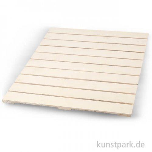 Wandschmuck aus Holz, 40x50,2 cm, Dicke 1,1 cm