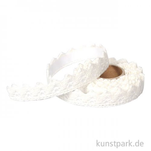 Washi Tape - Borte, selbstklebend, Weiß 1 - 2,5 m
