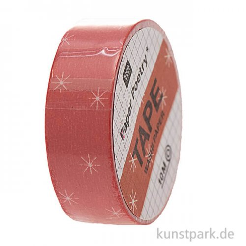 Washi Tape - Christmas is in the Air, Rot