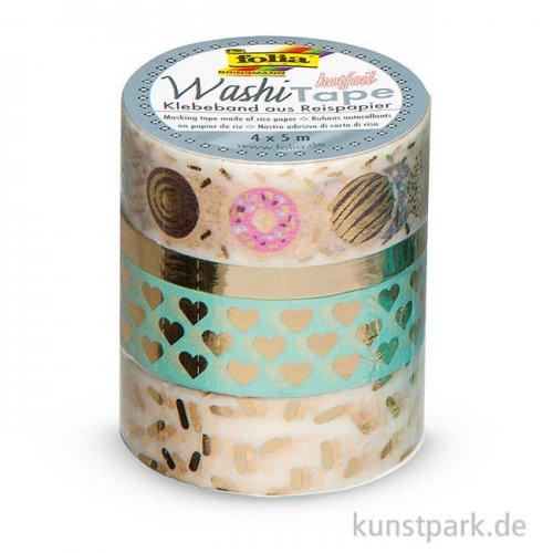 Washi-Tape Hotfoil - GOLD II, 4er Set