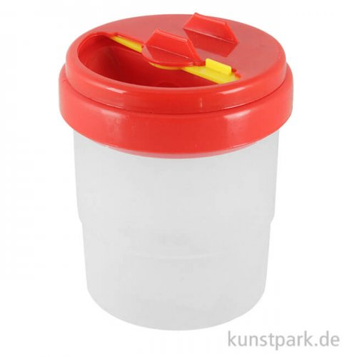 Wasserbehälter aus Kunststoff mit Auslaufschutz