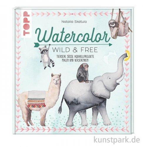 Watercolor Wild & Free, Topp Verlag