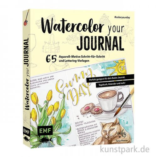 Watercolor your Journal, Edition Fischer