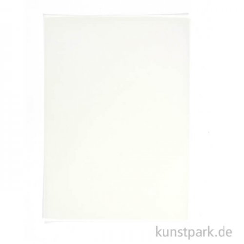 Weißes Pergamentpapier, DIN A4, 10 Blatt