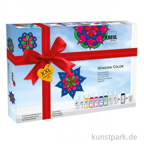 KREUL Window Color Glas Design Set - XXL