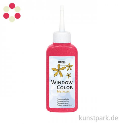 Window Color Glasmalfarbe Metallic 80 ml