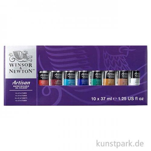 Winsor & Newton ARTISAN Tuben Set mit 10 x 37 ml