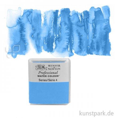 Winsor & Newton Aquarellfarben 1/2 Napf   140 Cerulean Blue RS