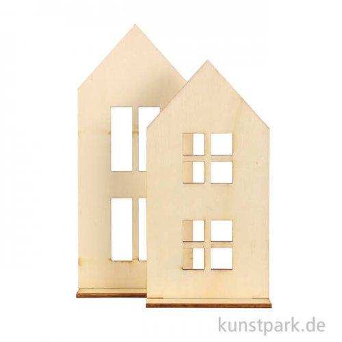 Wohnhaus aus Holz - 2 Stück