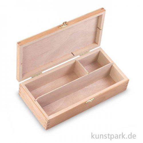 Kleiner Zeichenkasten aus Buchen-Holz
