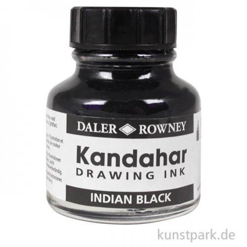 Zeichentusche Kandahar 28 ml - Indian Schwarz