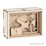 3D Geschenkbox - Journey, 11,5x8,5x5 cm, Holz-Bausatz mit 12 Teilen