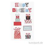 3D Sticker - Geburtstagsgeschenke