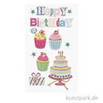 3D Sticker - Happy Birthday