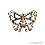 Anhänger Origami - Schmetterling, Gold