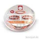 Armbandset Marie - Mandarine, 2-er Set mit Anleitung und viel Zubehör