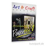 Art & Craft Academy - Einführung in Powertex DVD 1, ca. 131 Minuten
