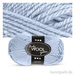 Babywolle 100% vom australischen Merinoschaf, extra weich - 50 g 172 m | Hellblau