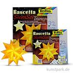 Bascetta-Stern Bastelset, 115g - gelb 20x20 cm
