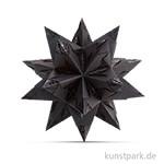 Bascetta-Stern Bastelset - Elegance Wildlife Schwarz, 90g 14,5 x 14,5 cm