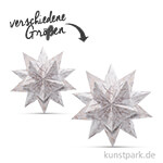 Bascetta-Stern Bastelset - Weiß-Winterornament Kupfer, 90g
