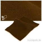 Bastelfilz 20x30 cm, 2mm Einzelbogen   Braun