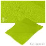 Bastelfilz 20x30 cm, 2mm Einzelbogen | Maigrün