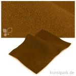 Bastelfilz 20x30 cm, 2mm Einzelbogen | Mittelbraun