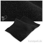 Bastelfilz 20x30 cm, 2mm Einzelbogen | Schwarz