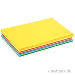 Bastelkarton COLORTIME - Happy, 180g, sortiert