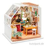 Bastelset Miniatur-Zimmer - Küche, mit umfangreichem Zubehör