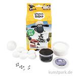 Bastelset - Shaun das Schaf Bowling, DIY-Kit mit allen Materialien