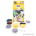 Bastelset - Shaun das Schaf Fingerpuppen, DIY-Kit mit allen Materialien