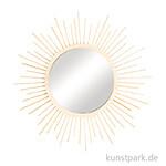 Bastelset Sonnenspiegel klein - 32 cm, Spiegel 15 cm