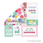 Best Summer Ever Scrappapier - Multi Journaling Cards