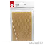 Bienenwachswabe 50 Prozent, 13x40 cm