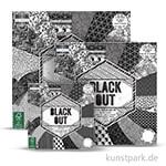 Black Out - Scrapbookingpapier
