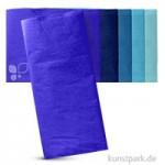 Blumenseide 50x70 cm, 10 Bogen, 20g 10 Bogen | Blautöne