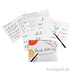 Brause Brush Lettering Anleitungsblock - 15 Blatt, DIN A4