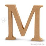 Großbuchstaben aus Holz, 13 cm 2 cm | M