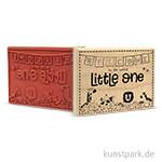Butterer Stempel - Welcome Litte One, 10x8 cm