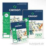 Canson 1557 Zeichenpapier, 30 Blatt, 180 g 21 x 29,7 cm