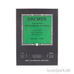 ARCHES Aquarellpapier fein, 12 Blatt, 300g 23 x 31 cm