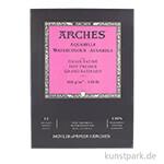 ARCHES Aquarellpapier satiniert, 12 Blatt, 300g 26 x 36 cm