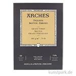 ARCHES SKETCHING, 20 Blatt, 105g