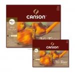 Canson MI-TEINTES Pastellblock 160 g - 30 Blatt, Erdtöne