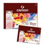 Canson MI-TEINTES Pastellblock 160 g - 16 Blatt, Weiß