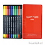 Caran d'Ache FIBRALO Brush Pen 10er Set